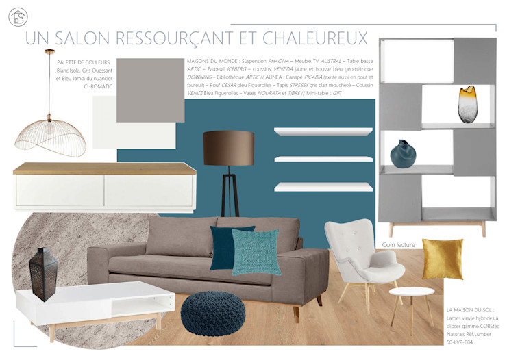 ABCD MAISON Living roomAccessories & decoration