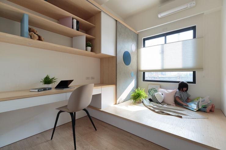 沉靜北歐宅 Moooi Design 驀翊設計 臥室