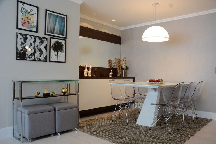 Bloco Z Arquitetura Modern dining room