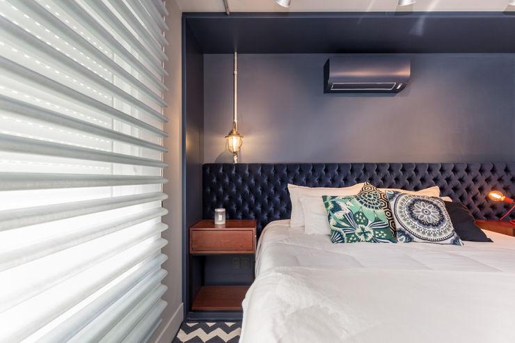 Bloco Z Arquitetura Modern style bedroom