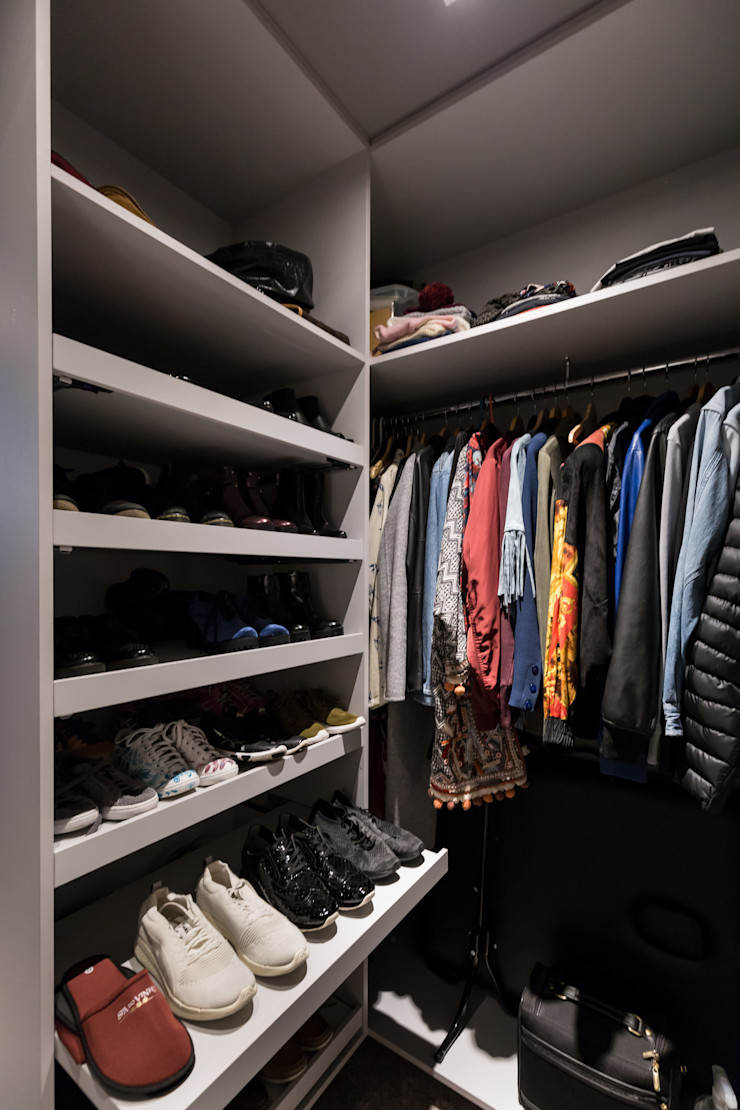 Bloco Z Arquitetura Modern dressing room