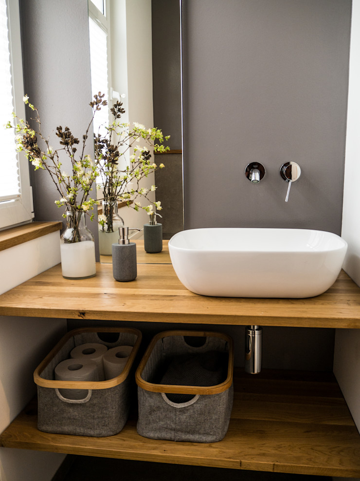 Gästetoilette Innenarchitektur Olms Moderne Badezimmer