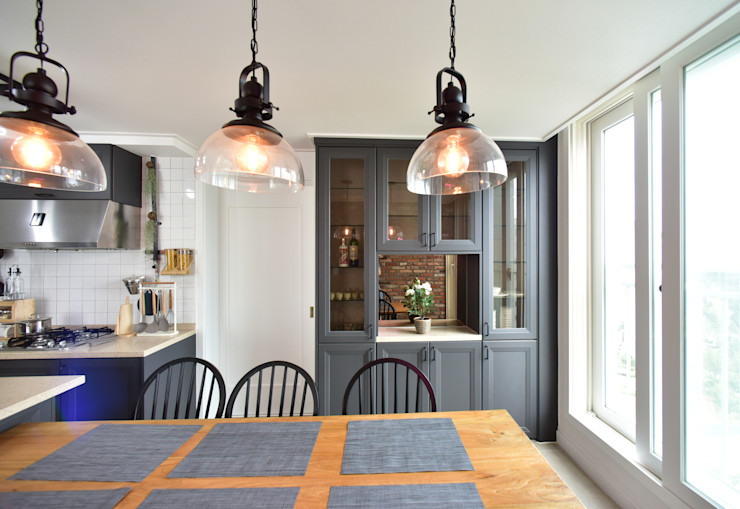 누보인테리어디자인 Modern kitchen