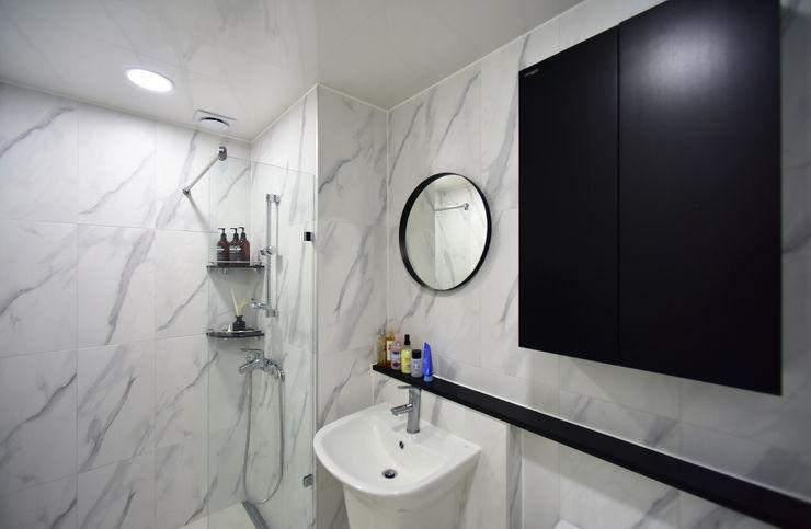 누보인테리어디자인 Modern bathroom