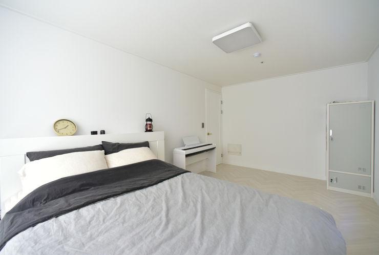 누보인테리어디자인 Modern style bedroom