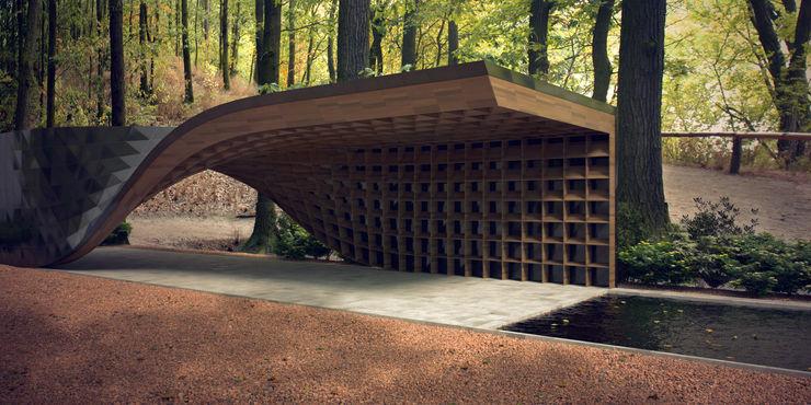 Protoforma Garden Pond Wood Wood effect