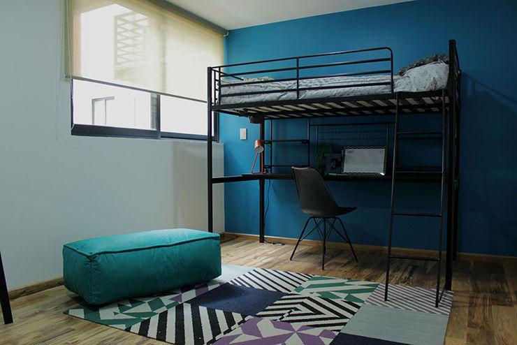Recamara de niño AU Lab Dormitorios infantiles modernos