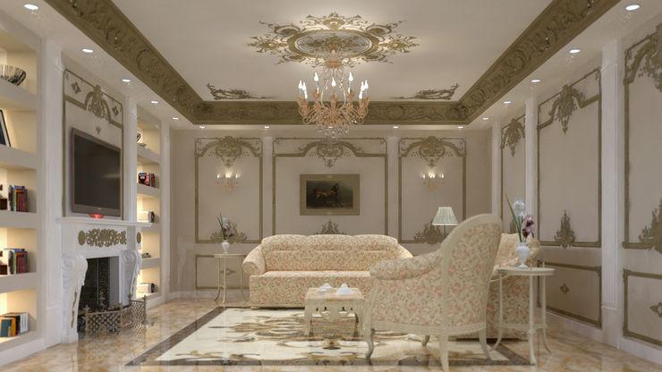 lifestyle_interiordesign Ruang Keluarga Klasik Beige