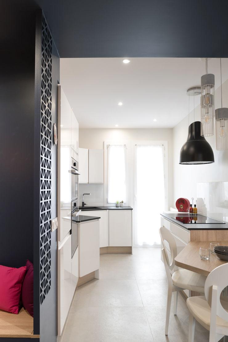 Chez Chantal Camille BASSE, Architecte d'intérieur Cuisine moderne