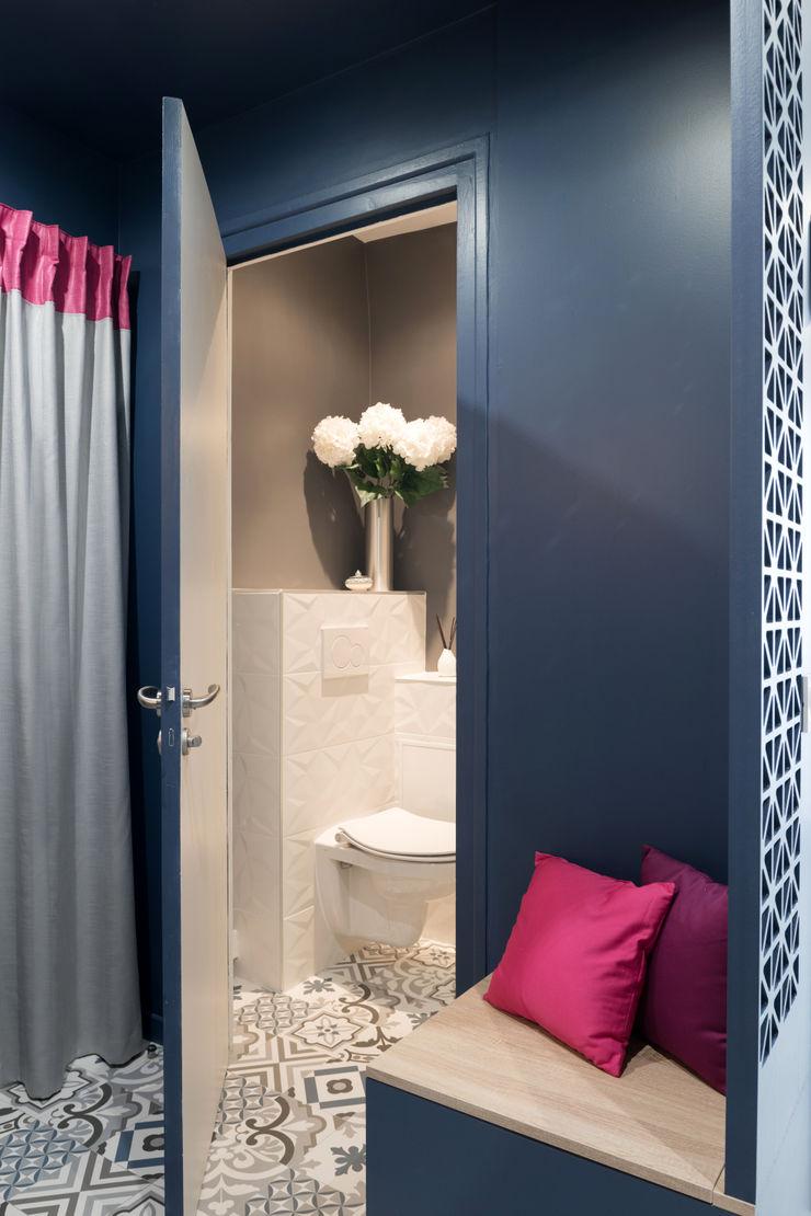 Chez Chantal Camille BASSE, Architecte d'intérieur Salle de bain moderne