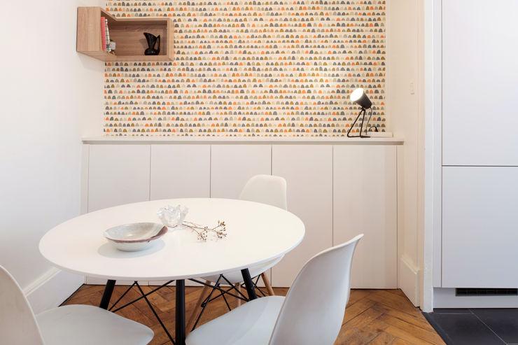 Chez Bénédicte et Eric Camille BASSE, Architecte d'intérieur Salle à manger moderne