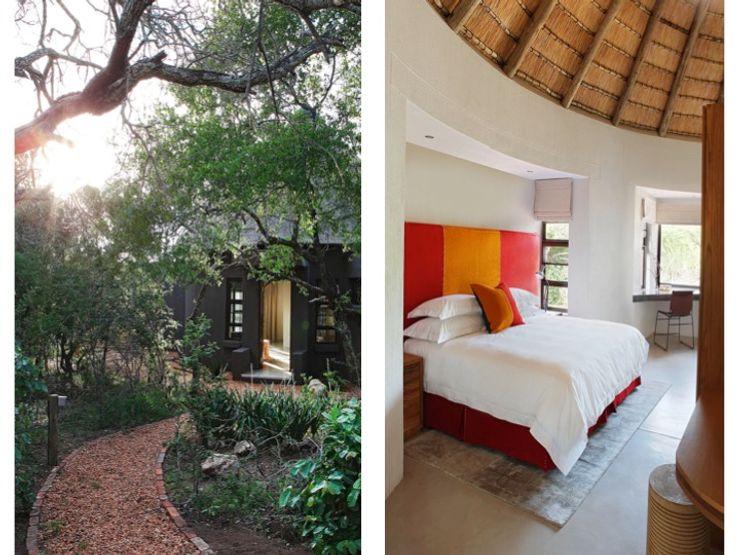 Metaphor Design Hotel Gaya Rustic Beton Orange