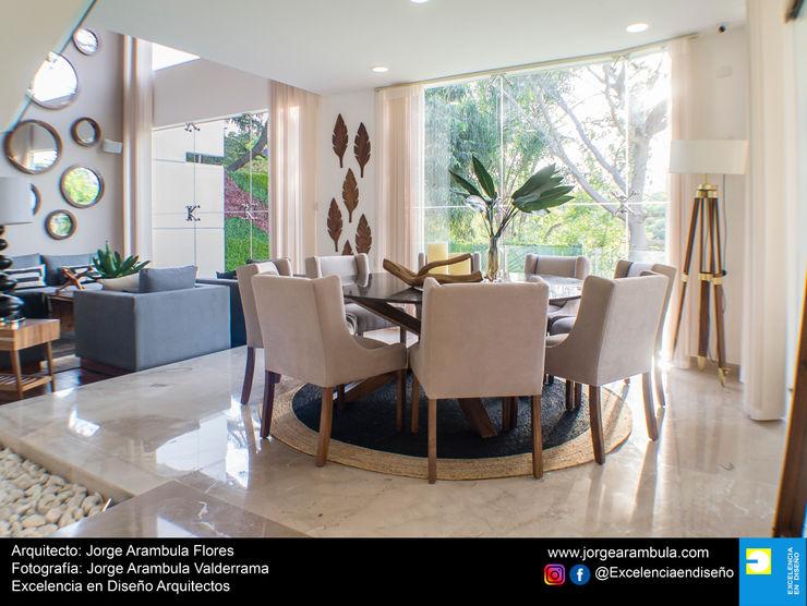 Casa Lagos 94 Excelencia en Diseño Comedores modernos