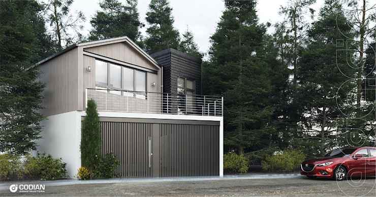 CODIAN CONSTRUCTORA Country house Grey