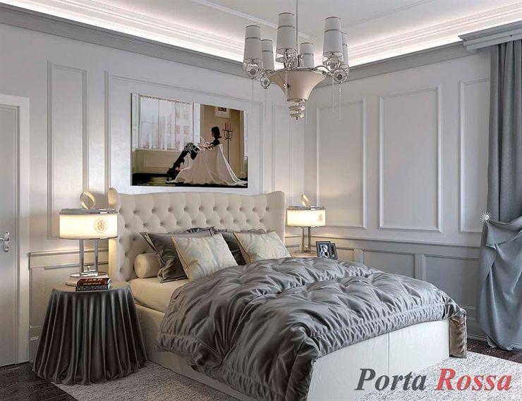 Приватный будинок в с. Кюрківщина Дизайн студія 'Porta Rossa' Спальня
