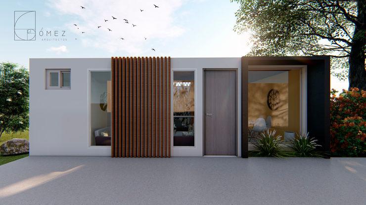 GóMEZ arquitectos Modern houses