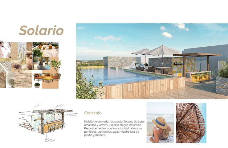 Opal Suites, Playa del Carmen Andrea Loya Albercas tropicales