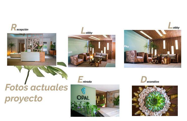 Opal Suites, Playa del Carmen Andrea Loya Tropische gangen, hallen & trappenhuizen