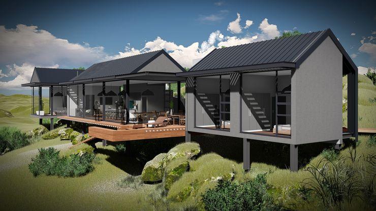 Juan Pretorius Architecture PTY LTD Casas escandinavas