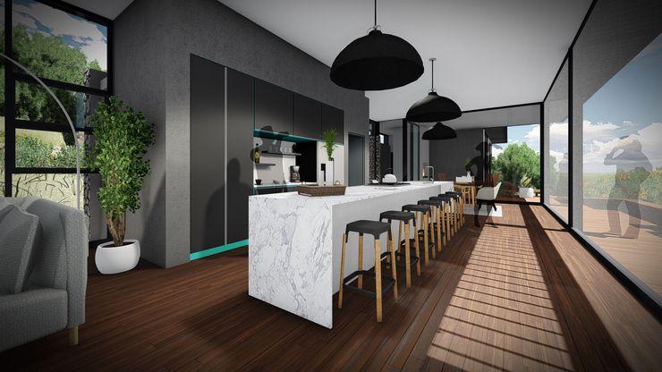 Juan Pretorius Architecture PTY LTD Cocinas escandinavas