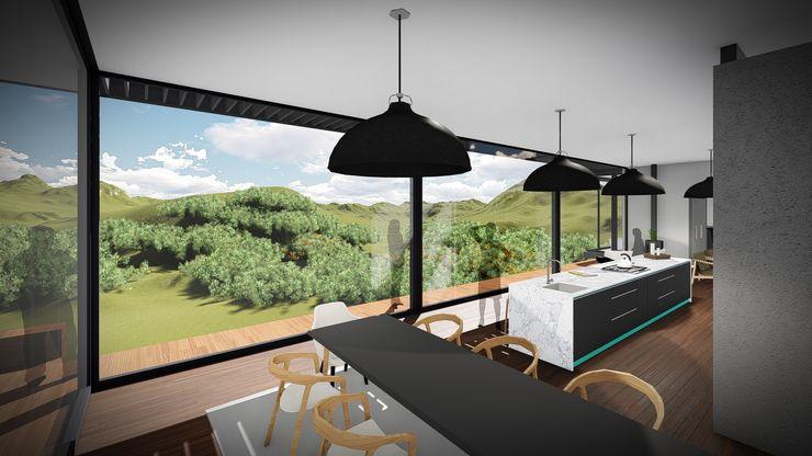 Juan Pretorius Architecture PTY LTD Comedores escandinavos