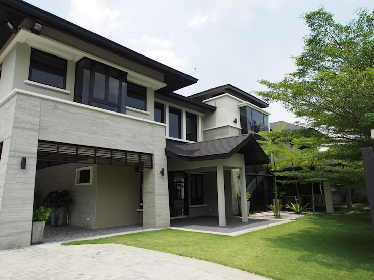 Mode Architects Sdn Bhd Tropical style garden