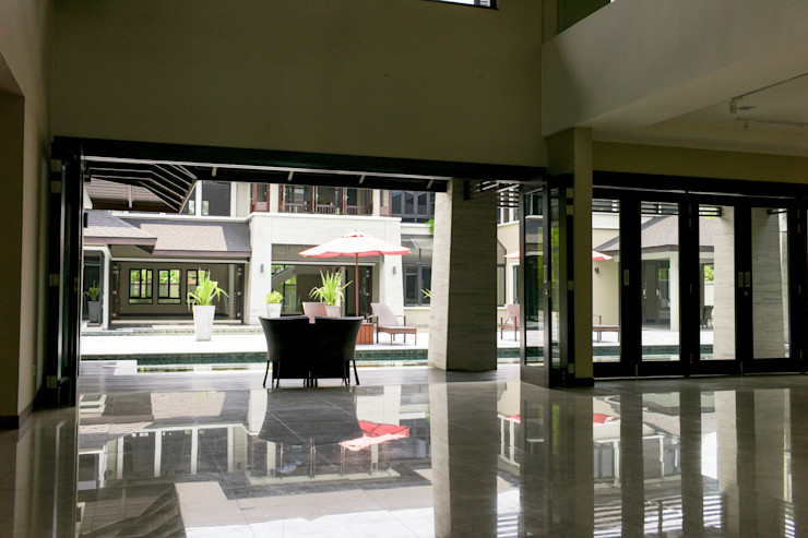 Mode Architects Sdn Bhd Tropical style living room
