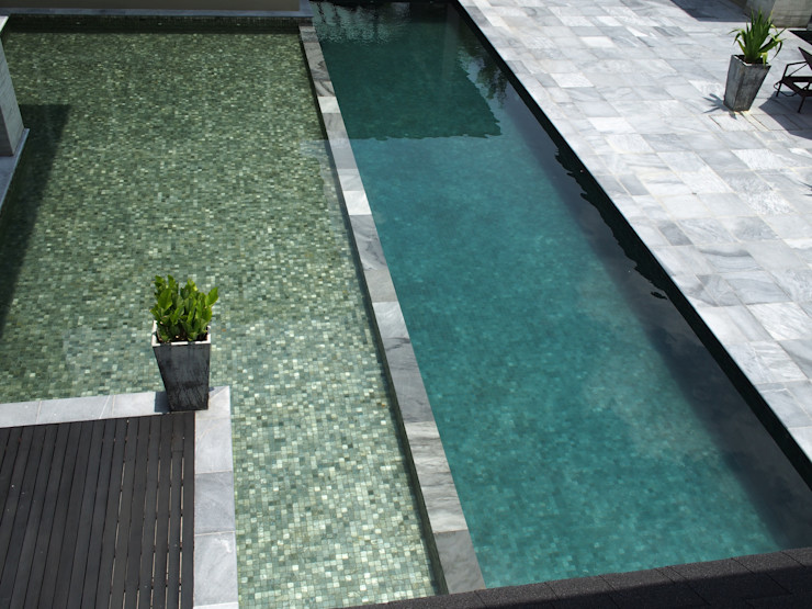 Mode Architects Sdn Bhd Tropical style pool