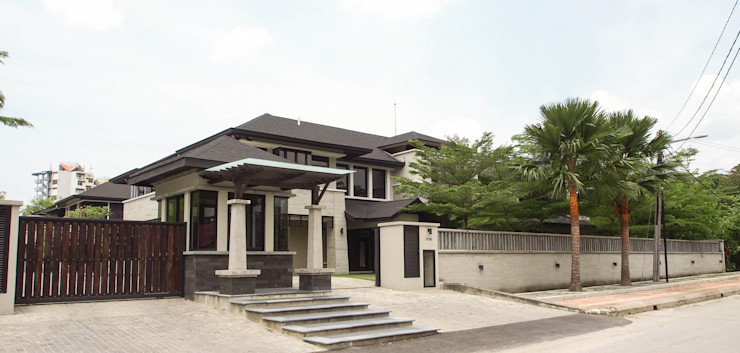 Mode Architects Sdn Bhd Tropical style houses