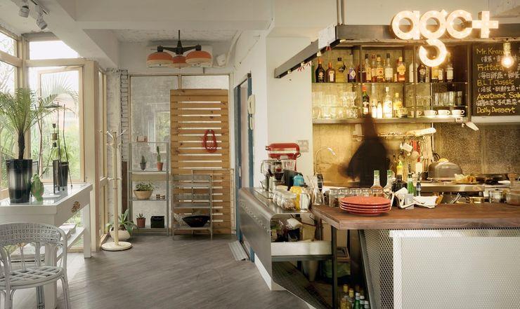 老屋翻新|AGCT 公寓商業空間 直方設計有限公司 廚房