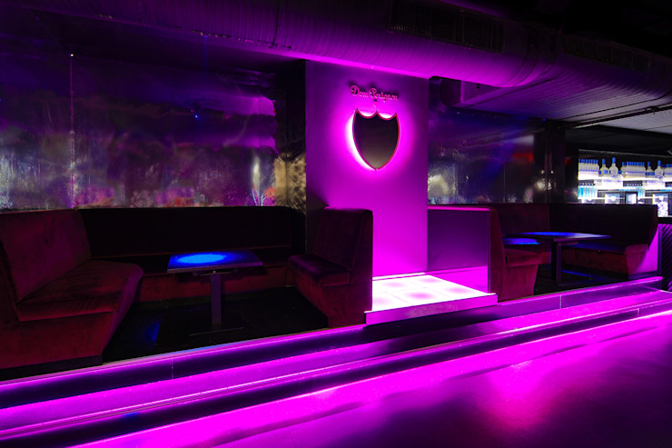 Club Interior - Nachher Dom Pérignon Lounge Kaldma Interiors - Interior Design aus Karlsruhe