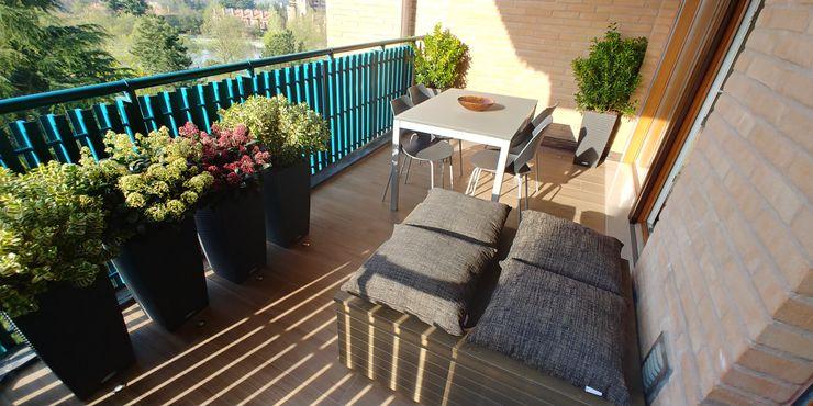 Residenziale - HOME SWEET HOME Luca Palmisano Architetto Balcone