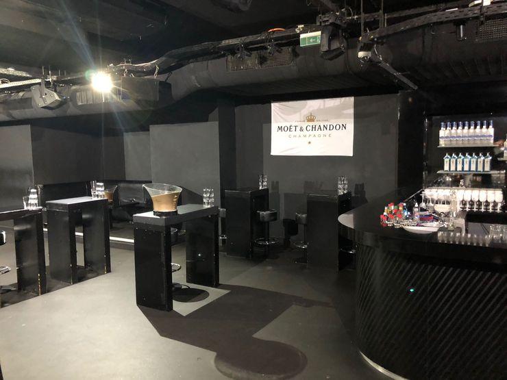 Club Interior - Vorher Dom Pérignon Lounge Kaldma Interiors - Interior Design aus Karlsruhe