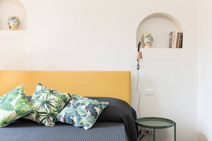 HORTUM APARTAMENT Caterina Raddi Camera da letto eclettica Verde