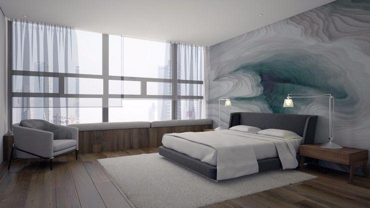 FM ARQUITECTOS Dormitorios de estilo moderno