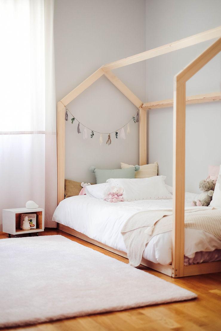 YS PROJECT DESIGN 嬰兒/兒童房床具與床鋪 木頭 Wood effect