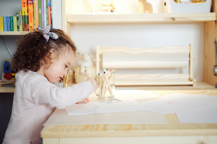 YS PROJECT DESIGN 嬰兒/兒童房桌椅 木頭 Wood effect