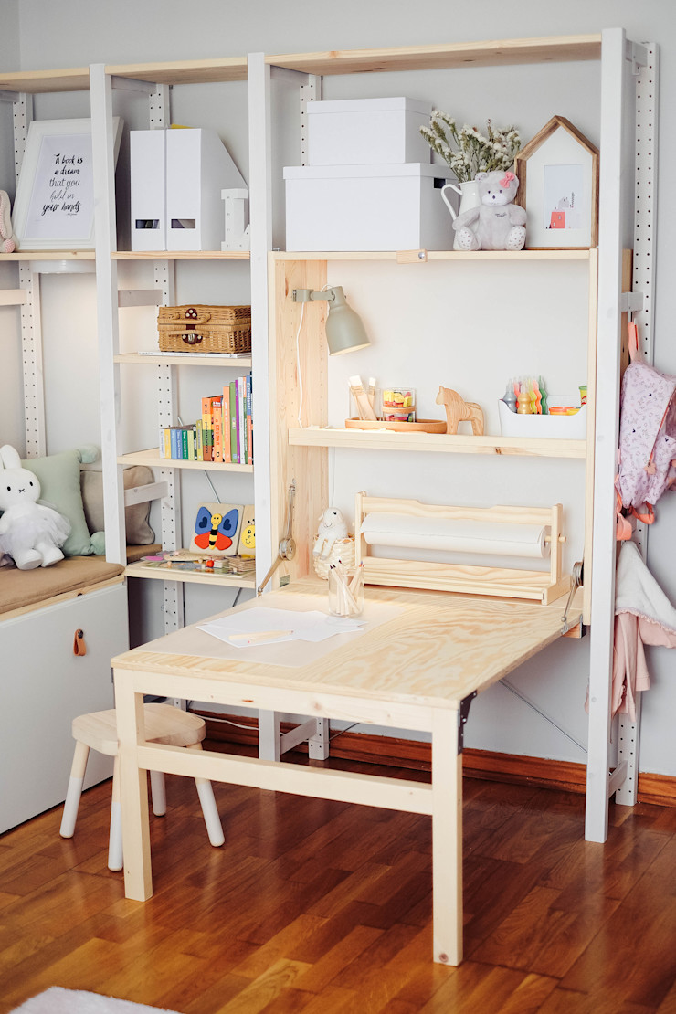 YS PROJECT DESIGN 嬰兒/兒童房桌椅 實木 Wood effect