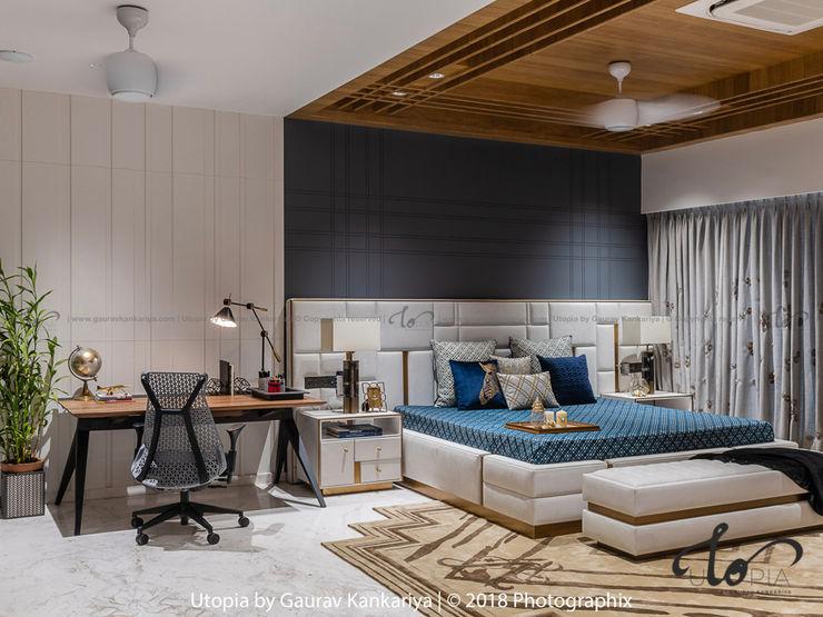 Utopia by Gaurav Kankariya Dormitorios modernos