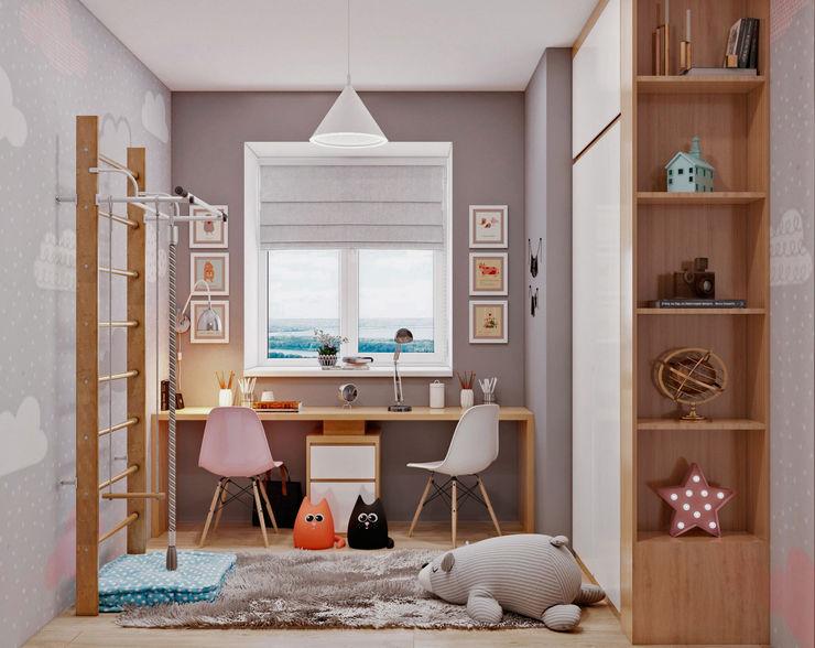 З двух в одну 'EDS' Exclusive Design Solutions Дитяча кімната Сірий