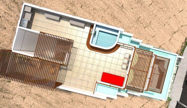 Casa de Playa - BUJAMA Corporación Siprisma S.A.C Piscinas
