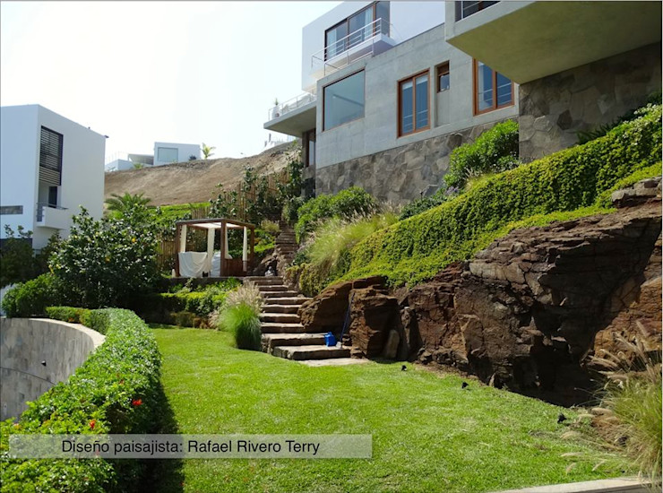Rafael Rivero Terry arquitecto paisajista Eclectic style garden