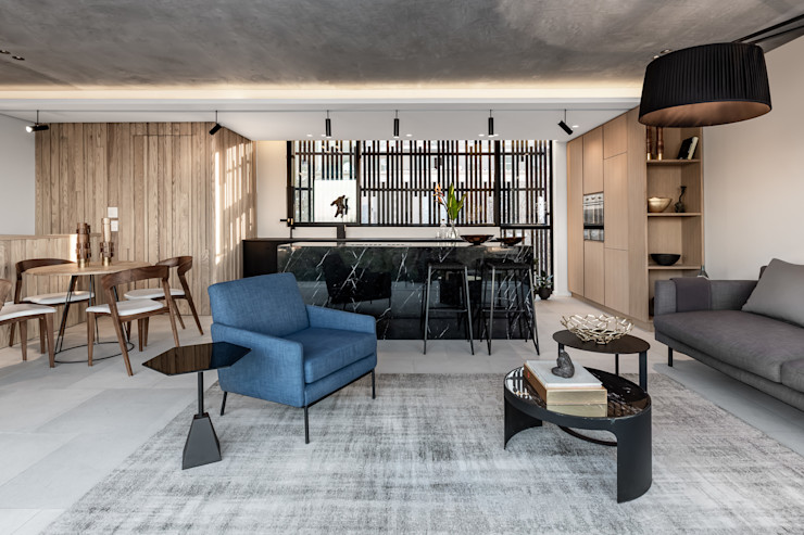 152 Waterkant GSQUARED architects Living room