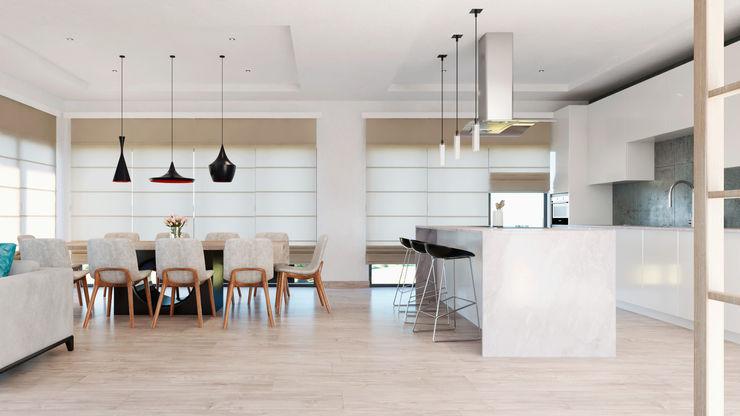 CODIAN CONSTRUCTORA Ruang Makan Modern