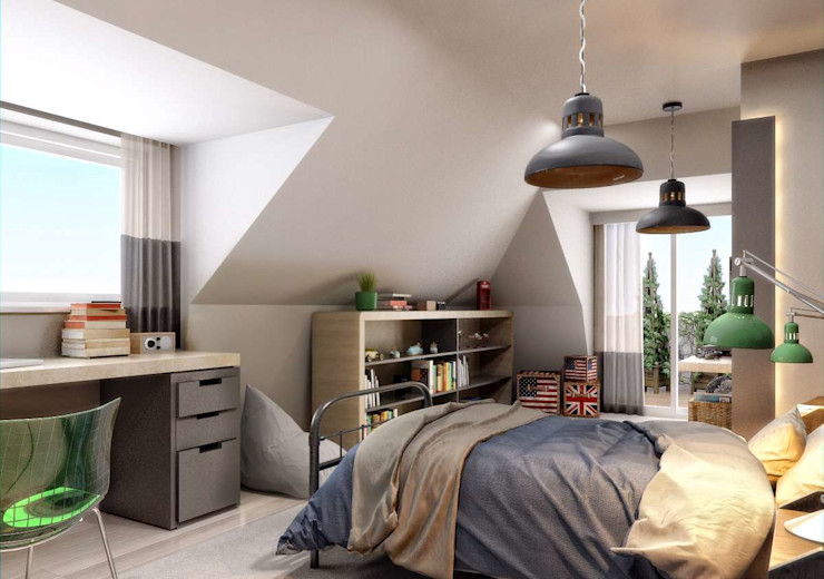 Yunus Emre | Interior Design VERO CONCEPT MİMARLIK Chambre garçon