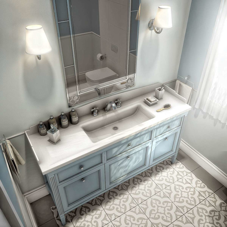Yunus Emre | Interior Design VERO CONCEPT MİMARLIK Salle de bain moderne