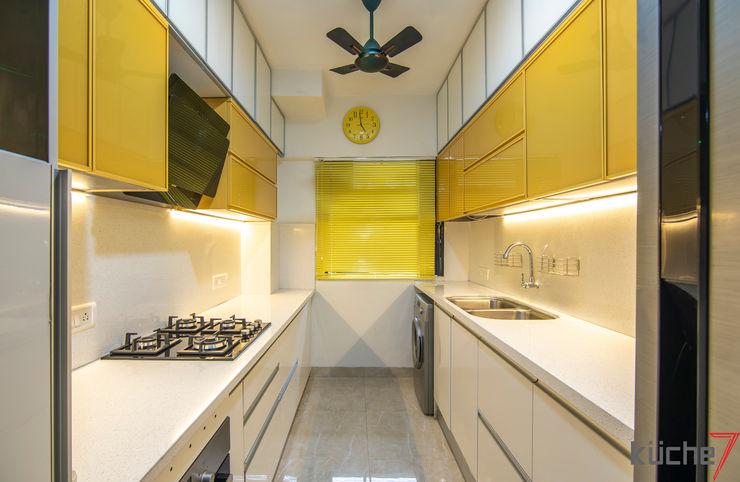 Küche7 Cozinhas embutidas Amarelo