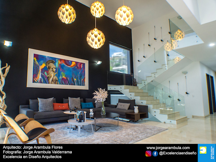 Casa La Nogalera Excelencia en Diseño Salones minimalistas