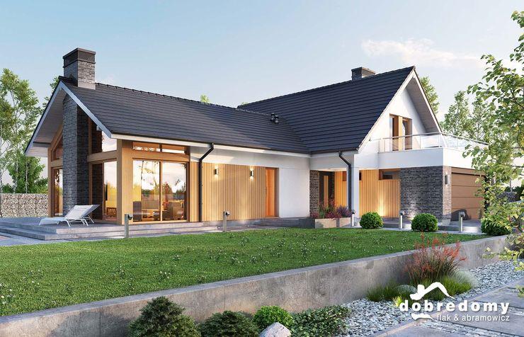 'Dobre Domy Flak&Abramowicz' Sp. z o.o. Sp.k. Modern houses