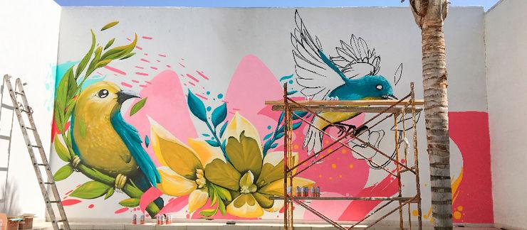 Arca México 牆面